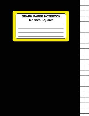 graph paper notebook 1 2 inch squares graph paper template large