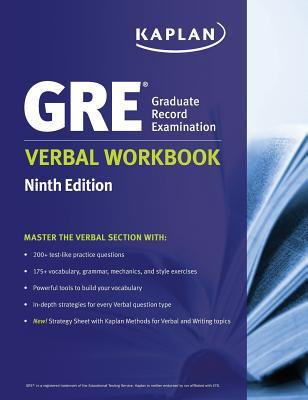 GRE Verbal Workbook - Kaplan
