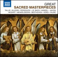 Great Sacred Masterpieces - Ann Hallenberg (alto); Anna Gonda (alto); Carlo Colombara (bass); César Hernández (tenor); Christoph Genz (tenor);...