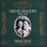 Great Singers, 1909-1938