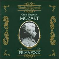 Great Singers in Mozart - Alexander Kipnis (vocals); Conchita Supervia (vocals); Eide Norena (vocals); Ernestine Schumann-Heink (vocals);...