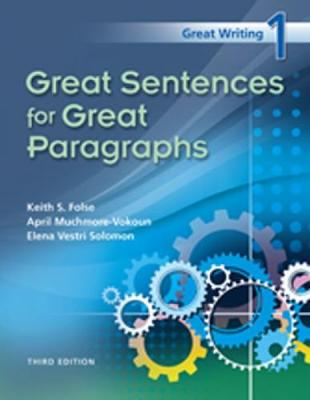 Great Writing 1: Great Sentences for Great Paragraphs: Classroom Presentation Tool CD-ROM - Folse, Keith S, and Muchmore-Vokoun, April, and Solomon, Elena Vestri