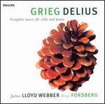 Grieg, Delius: Complete Music for Cello and Piano