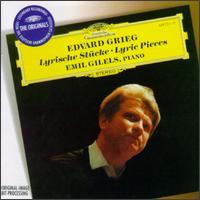 Grieg: Lyric Pieces - Emil Gilels (piano)