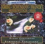 Grieg, Schumann: Piano Concertos; Franck: Symphonic Variations - Benno Moiseiwitsch (piano); Myra Hess (piano)