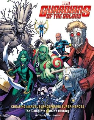 Guardians of the Galaxy: Drawing Marvel's Cosmic Crusaders - Sumerak, Mark