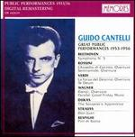 Guido Cantelli In The Great Public Performances (1953-1956)