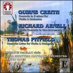 Guirne Creith, Richard Arnell, Thomas Pitfield: Violin Concertos