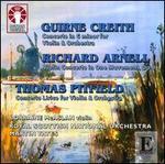 Guirne Creith, Richard Arnell, Thomas Pitfield: Violin Concertos