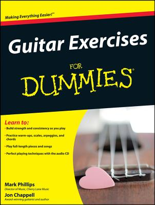Guitar Exercises for Dummies - Phillips, Mark