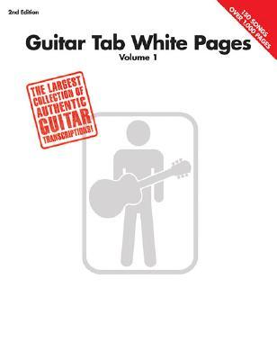Guitar Tab White Pages - Volume 1 - Hal Leonard Publishing Corporation (Creator)
