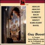 Guy Bovet à l'orgue Saint-Martin (1996) de la Collégiale de Neuchâtel