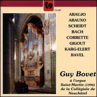Guy Bovet à l'orgue Saint-Martin (1996) de la Collégiale de Neuchâtel - Guy Bovet (organ)