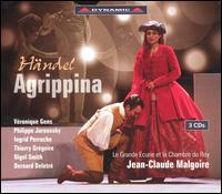 Händel: Agrippina - Alain Buet (bass); Bernard Deletré (bass); Fabrice Di Falco (soprano); Frédéric Fisbach (staging); Ingrid Perruche (soprano);...