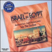 Händel: Israel in Egypt; Zadok the Priest; The King Shall Rejoice - Andrew Tusa (tenor); Ashley Stafford (alto); Christopher Purves (bass); Donna Deam (soprano); Elisabeth Priday (soprano);...
