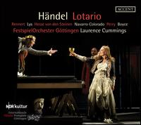 Händel: Lothario - Jorge Navarro Colorado (tenor); Jud Perry (counter tenor); Laurence Cummings (harpsichord); Marie Lys (soprano);...
