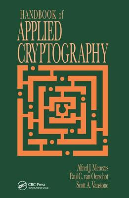 Handbook of Applied Cryptography - Menezes, Alfred J