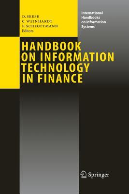 Handbook on Information Technology in Finance - Seese, Detlef (Editor)