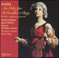 Handel: An Ode for St. Cecilia's Day - Carolyn Sampson (soprano); Crispian Steele-Perkins (trumpet); James Gilchrist (tenor); Jonathan Cohen (cello);...