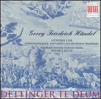 Handel: Dettinger Te Deum - Günther Leib (baritone)