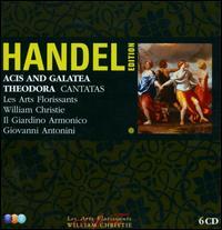 Handel Edition: Acis and Galatea; Theodora; Cantatas - Alan Ewing (bass); Daniel Taylor (alto); Eva Mei (soprano); Joseph Cornwell (tenor); Juliette Galstian (mezzo-soprano);...
