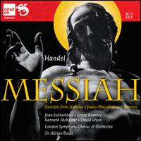 Handel: Excerpts from Messiah & Judas Maccabaeus - David Ward (bass); George Malcolm (harpsichord); Grace Bumbry (mezzo-soprano); Harry Dilley (trumpet);...