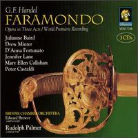 Handel: Faramondo - Alexandra Cook (horn); Aloysia Friedmann (violin); Anca Nicolau (violin); Andrea Andros (viola); Anne Briggs (flute);...