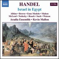 Handel: Israel in Egypt - Bud Roach (tenor); Eve Rachel McLeod (soprano); Jason Nedecky (baritone); Jennie Such (soprano); Jennifer Enns Modolo (alto);...