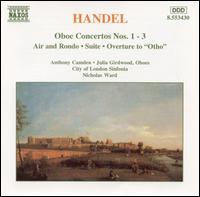 Handel: Oboe Concertos - Anthony Camden (oboe); Julia Girdwood (oboe)