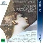 Handel: Ode for St. Cecilia's Day; Organ Concerto No. 13; Zakok the Priest