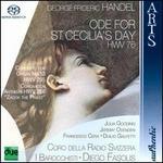 Handel: Ode for St. Cecilia's Day; Organ Concerto No. 13; Zakok the Priest