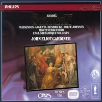 Handel: Solomon - Anthony Rolfe Johnson (tenor); Barbara Hendricks (soprano); Carolyn Watkinson (mezzo-soprano); Della Jones (vocals);...