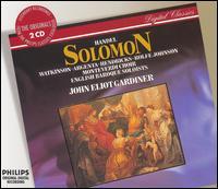 Handel: Solomon - Anthony Rolfe Johnson (tenor); Barbara Hendricks (soprano); Carolyn Watkinson (mezzo-soprano); Della Jones (mezzo-soprano);...