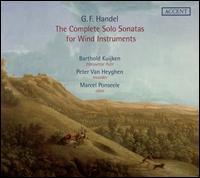Handel: The Complete Solo Sonatas for Wind Instruments - Ewald Demeyere (harpsichord); Kris Verhelst (harpsichord); Marcel Ponseele (oboe); Peter van Heyghen (recorder);...