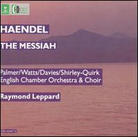 Handel: The Messiah - Carl Pini (violin); Felicity Palmer (soprano); Helen Watts (alto); John Shirley-Quirk (bass); Leslie Pearson (organ);...