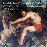 Handel's Finest Arias for Base Voice, Vol.2 - Christopher Purves (baritone); Arcangelo; Jonathan Cohen (conductor)