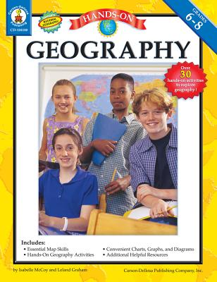 Hands-On Geography Grades 6-8 - McCoy, Isabelle, and Graham, Leland