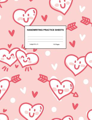 Handwriting Practice Sheets: Cute Blank Lined Paper Notebook for Writing Exercise and Cursive Worksheets - Perfect Workbook for Preschool, Kindergarten, 1st, 2nd, 3rd and 4th Grade Kids - Product Code A4 8242 - Estes, Reyna