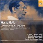 Hans Gál: Chamber Music, Vol. 3
