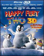 Happy Feet Two [Blu-ray/DVD] [3D] [Includes Digital Copy] [UltraViolet]