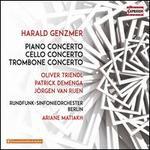 Harald Genzmer: Piano Concerto; Cello Concerto; Trombone Concerto