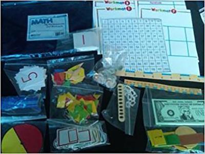 Harcourt School Publishers Math: My Manipulatives/Workmats Grade 1 - HSP