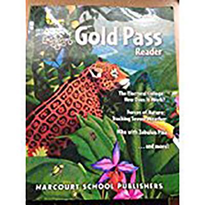 Harcourt School Publishers Storytown California: Gold Pass Rdr Se Grade 5 2010 - HSP