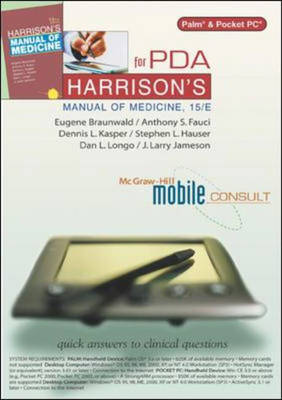 Harrison's Manual of Medicine, 15/E for PDA - Braunwald, Eugene, and Fauci, Anthony S., and Longo, Dan L.