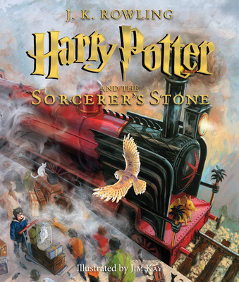 Harry Potter and the Sorcerer's Stone: The Illustrated Edition (Harry Potter, Book 1) - Rowling, J K