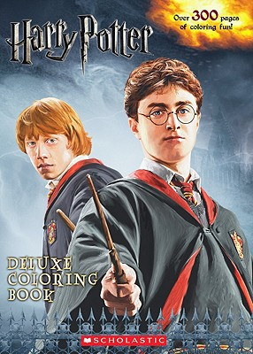 Harry Potter Deluxe Coloring Book - Scholastic Inc (Creator)
