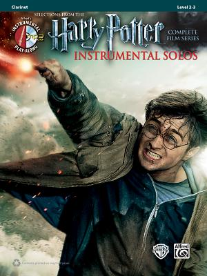 Harry Potter Instrumental Solos: Clarinet, Book & CD - Alfred Publishing