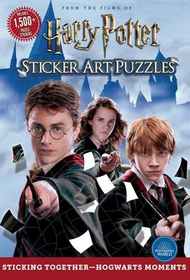 Harry Potter Sticker Art Puzzles - Editors of Thunder Bay Press
