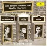 Haydn, Beethoven, Schumann, Fauré: Piano Trios, Piano Quartets