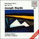 Haydn: Divertimenti, Nos. 10-12